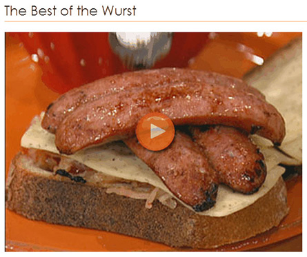 Rachel Ray - The Best of the Wurst